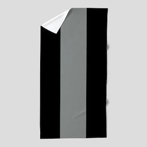 The Thin Grey Line Beach Towel