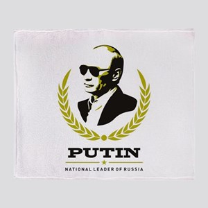 Vladimir Putin Throw Blanket