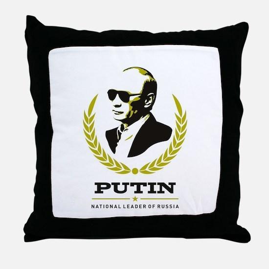 Vladimir Putin Throw Pillow