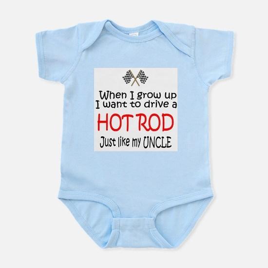 WIGU Hot Rod Uncle Infant Bodysuit