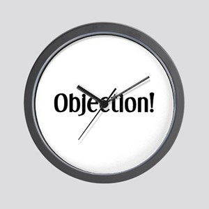 objection Wall Clock