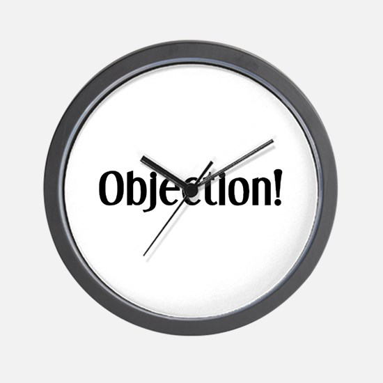 objection Wall Clock