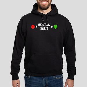 Belgian Beer Equals Happy Hoodie
