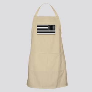 U.S. Flag: Black Flag & The Thin Grey Line ( Apron