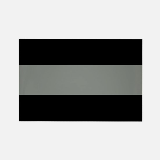 The Thin Grey Line Rectangle Magnet