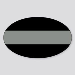 The Thin Grey Line Sticker (Oval)