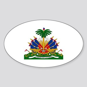 Coat of arms of Haiti - Emblème d'Haïti Sticker
