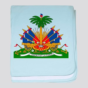 Coat of arms of Haiti - Emblème d'Haï baby blanket