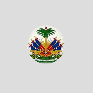 Coat of arms of Haiti - Emblème d'Haït Mini Button