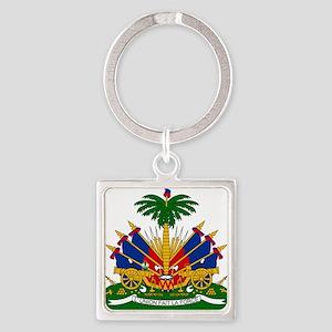 Coat of arms of Haiti - Emblème d'Haïti Keychains