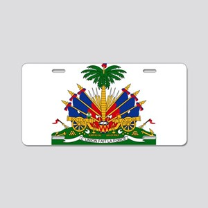Coat of arms of Haiti - Emb Aluminum License Plate