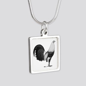 Gamecock Grey Duckwing Rooster Necklaces