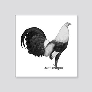 Grey Duckwing Rooster Sticker