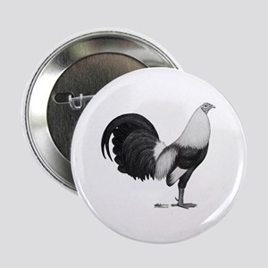 """Gamecock Grey Duckwing 2.25"""" Button (10 Pack)"""