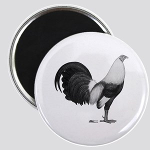 Gamecock Grey Duckwing Rooster Magnets