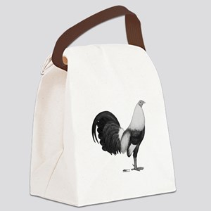 Gamecock Grey Duckwing Rooster Canvas Lunch Bag