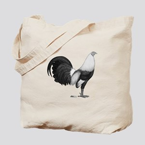 Gamecock Grey Duckwing Rooster Tote Bag