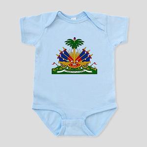 Coat of arms of Haiti - Emblème d'Haïti Body Suit