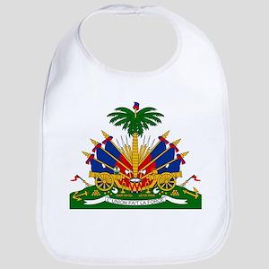 Coat of arms of Haiti - Emblème d'Haïti Bib