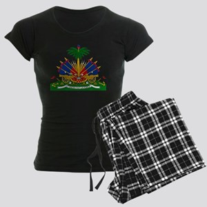Coat of arms of Haiti - Embl Women's Dark Pajamas