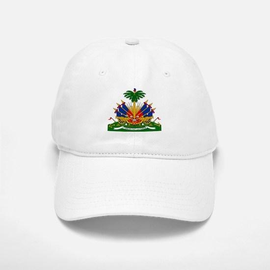 Coat of arms of Haiti - Emblème d'Haïti Baseball Baseball Cap