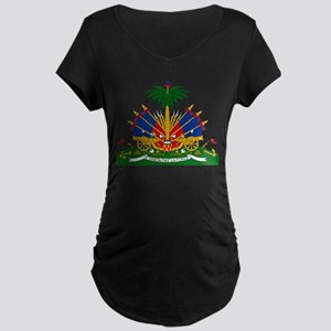 Coat of arms of Haiti - Emblème Maternity T-Shirt