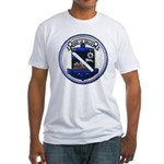 USS LA SALLE Fitted T-Shirt