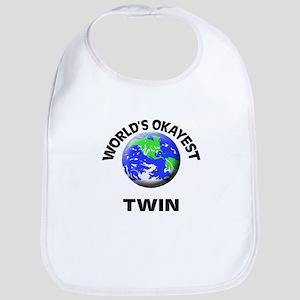 World's Okayest Twin Bib
