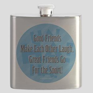 Laugh-Snort Flask