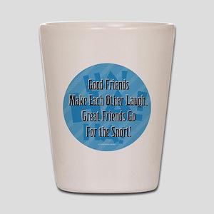 Laugh-Snort Shot Glass