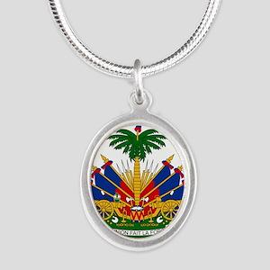 Coat of arms of Haiti - Emblème d'Haïti Necklaces