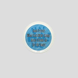 Laugh-Snort Mini Button