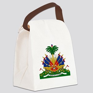 Coat of arms of Haiti - Emblème d Canvas Lunch Bag