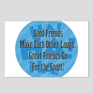 Laugh-Snort Postcards (Package of 8)