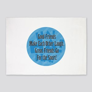 Laugh-Snort 5'x7'Area Rug