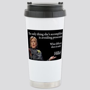 HILLARY ONLY THING Stainless Steel Travel Mug