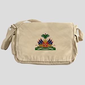 Coat of arms of Haiti - Emblème d'Ha Messenger Bag