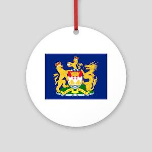 Hong Kong Autonomy Movement Flag Round Ornament