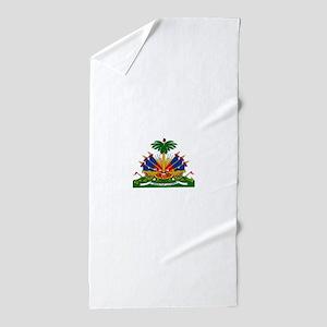 Coat of arms of Haiti - Emblème d'Haït Beach Towel