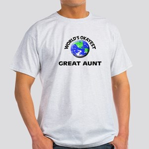World's Okayest Great Aunt T-Shirt