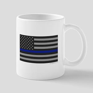 Thin Blue Line Flag Mug Mugs