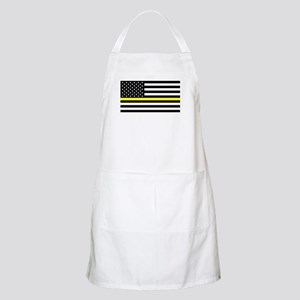U.S. Flag: Black Flag & The Thin Yellow Line Apron