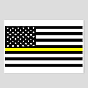 U.S. Flag: Black Flag & T Postcards (Package of 8)