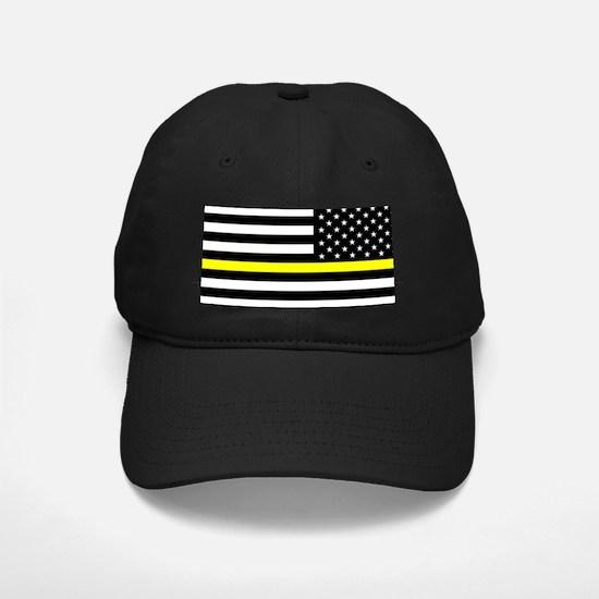 U.S. Flag: Black Flag & The Thin Yellow Baseball Hat
