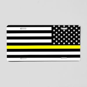 U.S. Flag: Black Flag & The Aluminum License Plate