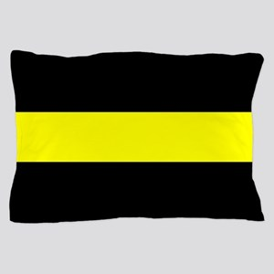 The Thin Yellow Line Pillow Case
