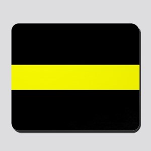 The Thin Yellow Line Mousepad