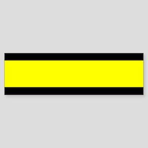 The Thin Yellow Line Sticker (Bumper)
