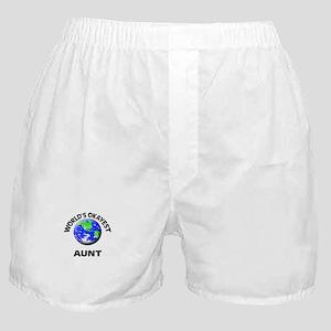 World's Okayest Aunt Boxer Shorts