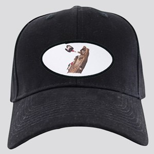 Red Headed Woodpeckers Baseball Hat Black Cap